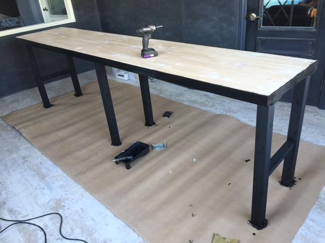 テーブル制作の写真