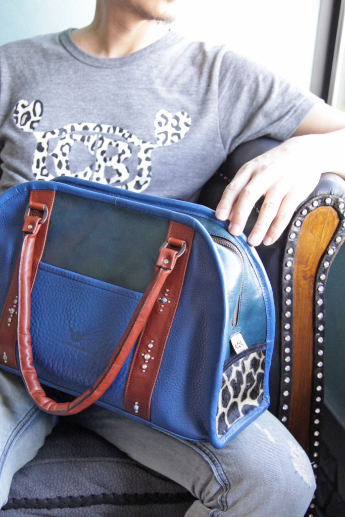 2度と手に入らない革で作る世界に1個のバッグ